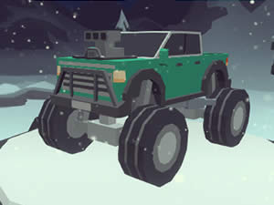 3D Monster Truck: IcyRoads