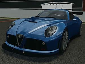 Alfa Romeo Hidden Wheels