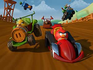Angry Birds Hidden Wheels