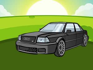 Audi Hidden Wheels