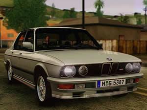 BMW M5 E28 Puzzle