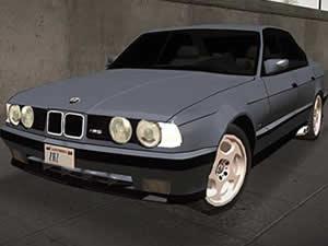 BMW M5 E34 Puzzle