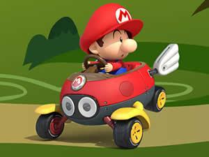 Baby Mario Car Puzzle