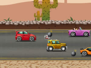 Bombing Cars