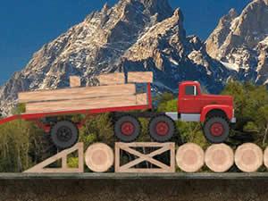 Cargo Lumber Transporter