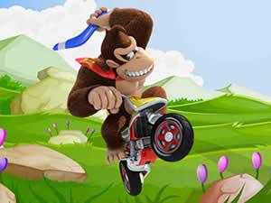 Donkey Kong Bike Puzzle
