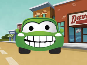 Funny Cartoon Cars Memory