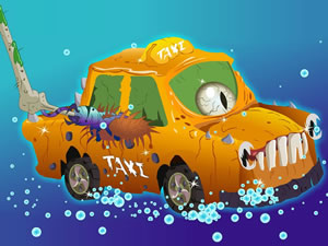 Halloween Taxi Puzzle