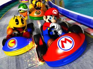Mario Racing Puzzle