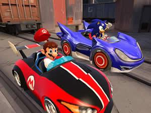 Mario vs Sonic Puzzle