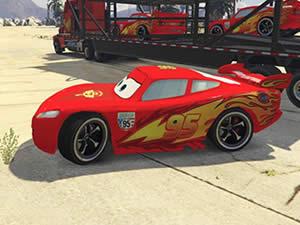 McQueen Cars Hidden Wheels