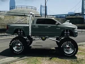Metal Monster Truck Puzzle