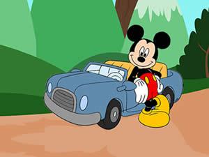 Mickey Mouse Car Keys