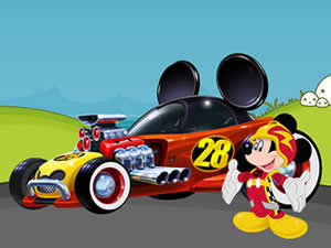 Mickey Roadster Puzzle
