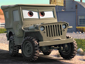 Sarge Cars Puzzle