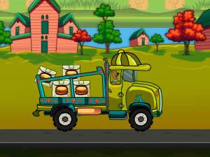 Scooby Doo Food Truck