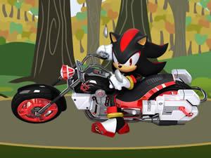 Shadow the Hedgehog Bike
