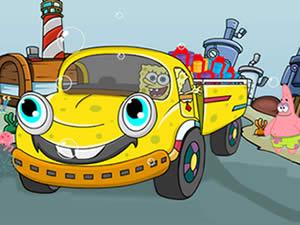 SpongeBob Truck Puzzle
