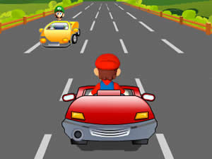 Super Mario On The Road