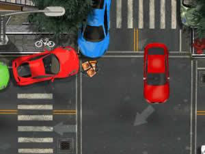 Supercar Rain Parking