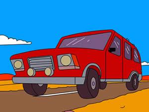 The Simpsons Canyonero