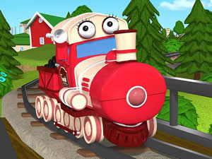 Tilly Train Puzzle