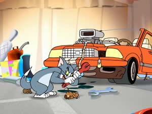 Tom and Jerry Car Keys