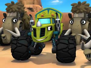 Zeg Monster Machines Puzzle