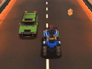 ATV Quad Traffic Racer