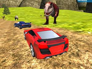 Dino Car Race