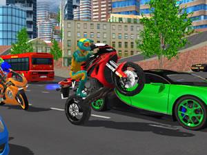 Hero Stunt Spider Bike Simulator 3D