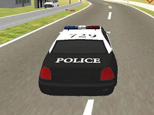 Police Car Driving School