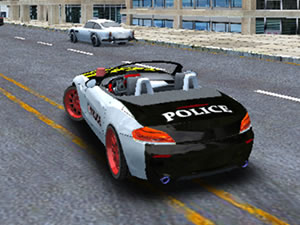 Police Car Stunt Simulation 3D