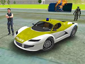 Police Crime City Simulator - Police Car Driving