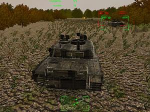 Tanks Battle Ahead
